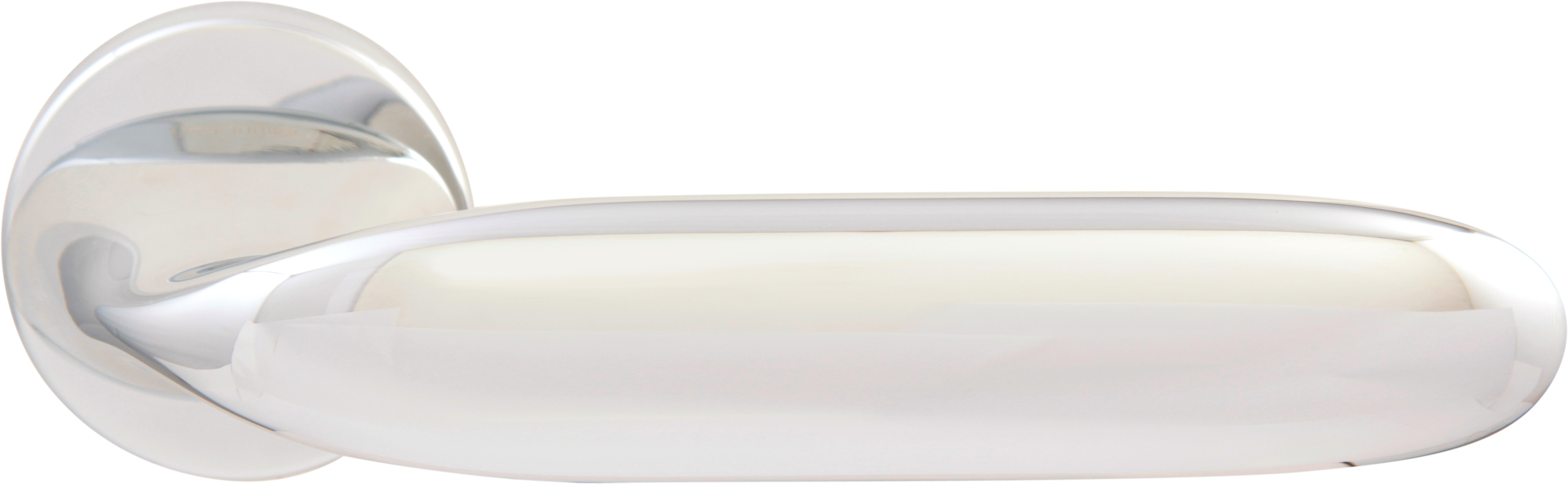 Дверная ручка на круглой розетке 493 R MOON CP (FIXA)
