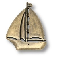 Накладка декоративная в форме парусника 4430.0144.002