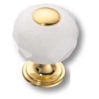 Ручка кнопка 0737-030-1-WHITE