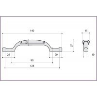 Ручка-скоба M17.01.205.02