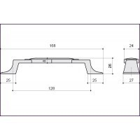 Ручка-скоба M31.17.185.02