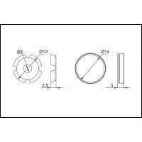 Заглушка декоративная для винта крепления ручки SCR001.014.0015