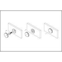 Заглушка декоративная для винта крепления ручки SCR001.014.0022