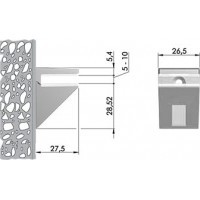 Менсолодержатель KALABRONE MINI 16220080EC-1