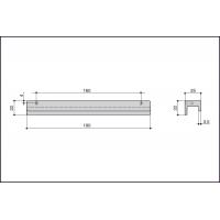 Ручка скоба S437620160-31