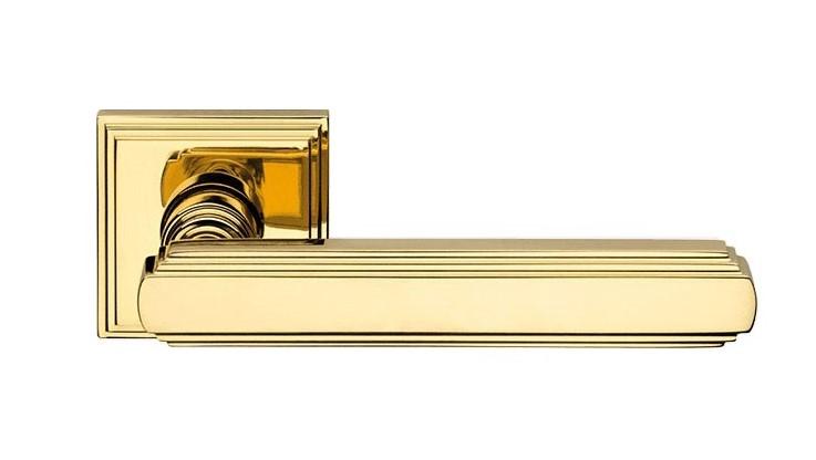 """Дверная ручка на квадратной розетке """"GLAMOR"""" OZ 1555/016"""