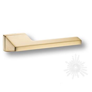 Дверная ручка на прямоугольной розетке HA199RO15 BB LINEA D