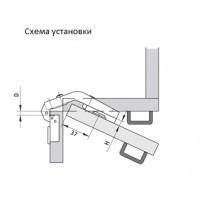 Петля Slide-on специальная (270) карусельная