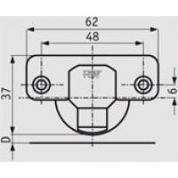 Петля Integra slowmotion со встроенным доводчиком стандартная (90/110) накладная