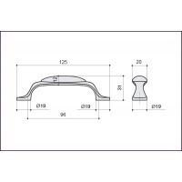 Ручка-скоба M10.01.69.15