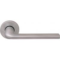 Дверная ручка на круглой розетке 133 R MILLY CS (50PVC)