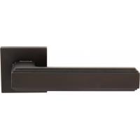 Дверная ручка на квадратной розетке 293 ALILA ANTRAX (FIXA)
