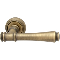 Дверная ручка на круглой розетке 245 V Tako Матовая бронза
