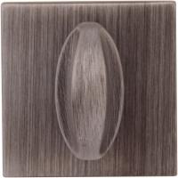 Накладка Wc квадратная Затемненное серебро (FIXA)