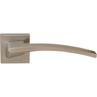 Дверная ручка на квадратной розетке 219K Elettra Матовый хром
