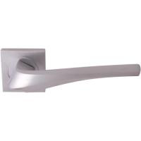 Дверная ручка на квадратной розетке 278K Minerva Матовый хром