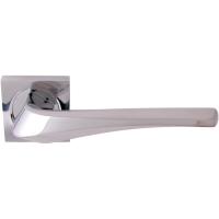 Дверная ручка на квадратной розетке 278K Minerva Полированный хром