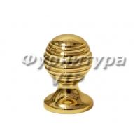 Ручка кнопка PAMUKKALE-09 25 мм латунь