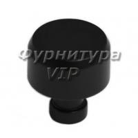 Ручка кнопка NIL-04 25 мм черная