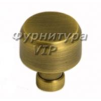 Ручка кнопка NIL-14 25 мм бронза