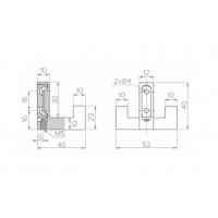 Крючок WZ-K2202-01