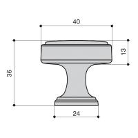 Ручка кнопка KB-M-4163-40-AC