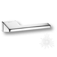 Дверная ручка на прямоугольной розетке HA199RO15 CR LINEA D